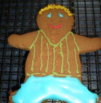 Gingerbread Stripy