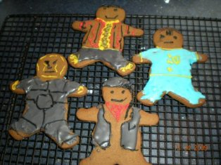 Gingerbread Dwarfers