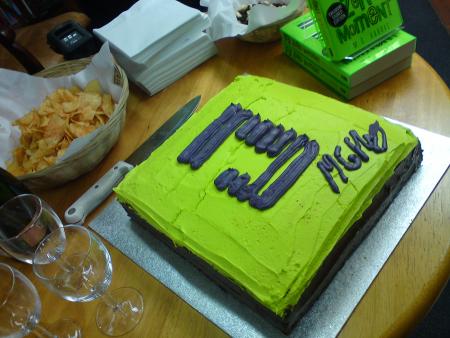 Joshua Files cake