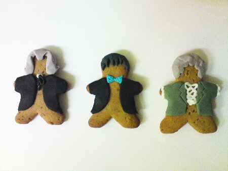 Gingerbread Who: One, Two, Three