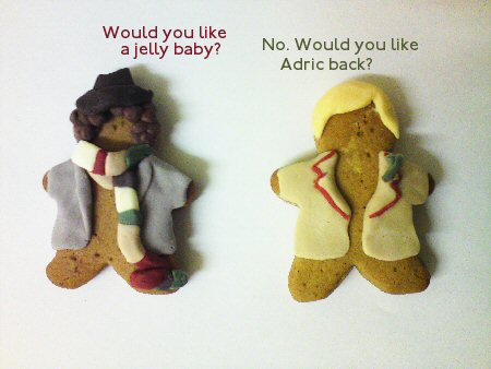 Gingerbread Who: Four, Five