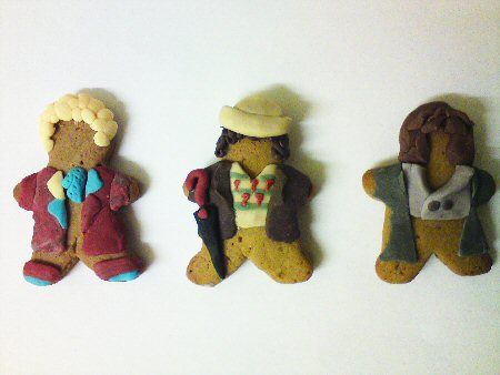 Gingerbread Who: Six, Seven, Eight