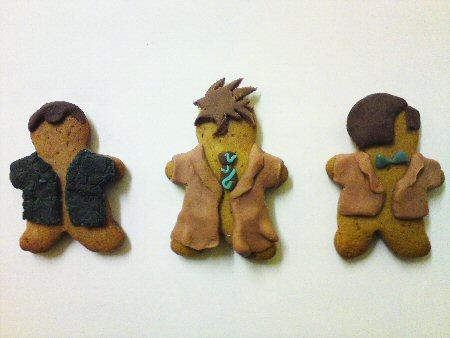 Gingerbread Who: Nine, Ten, Eleven