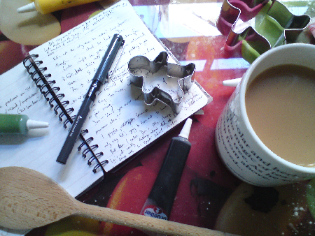 Tea, biccies and books