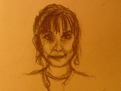 self-portrait: whoa