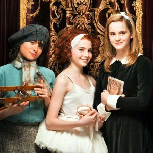 Ballet Shoes, starring Hermione, Maria, and that other one