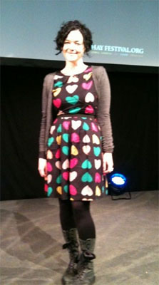 Susie at Hay Festival