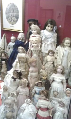 Wax dolls