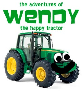 wendy the happy tractor