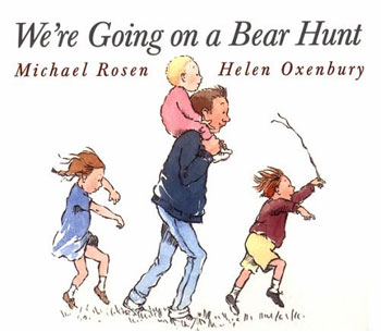 Were going on a bear hunt: front cover