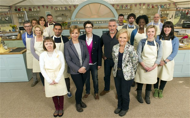 Bake Off via telegraph.co.uk