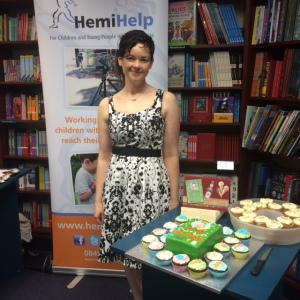 Susie at the Hemihelp stand