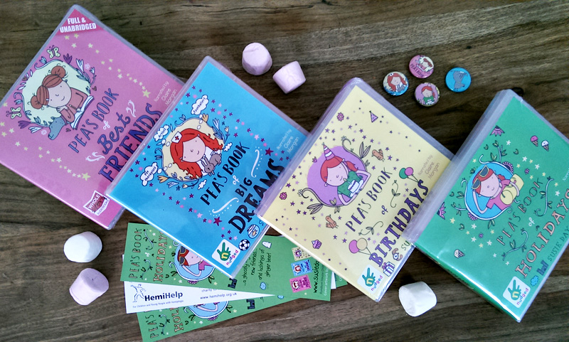 Pea's Book of Holidays competition