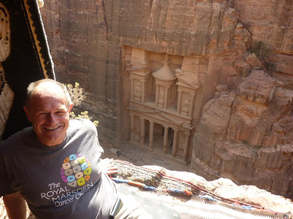 Ian Rice at Petra